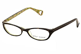 Eyeglass Frames Bjs : Amazon.com: Betsey Johnson Rosie Rosebud BJ0107 Eyeglasses ...