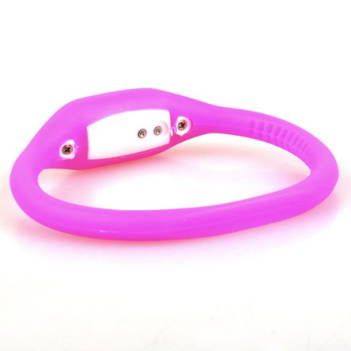 Neewer Pink Sport Band Pink Silicone Watch Date Time Water Resist