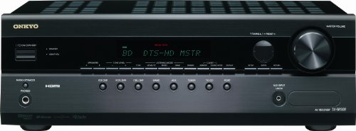 Onkyo TX-SR308 5.1-Channel Home Theater Receiver (Black)