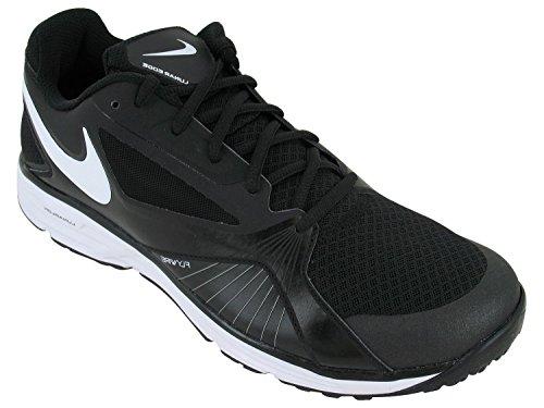 Nike Men's NIKE LUNAR EDGE 15 TRAINING SHOES 11.5 Men US (BLACK/WHITE)