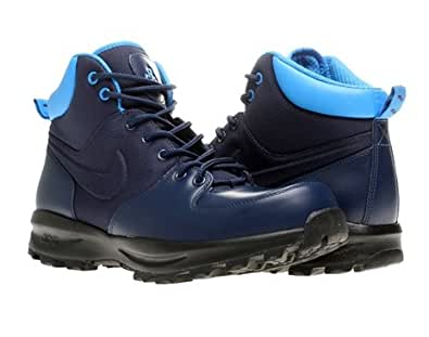 Nike Manoa ACG Mens Boots 472780-441 (11.5 M US Men, Light Midnight/Photo Blue-Photo Blue)