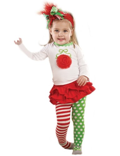 Mud Pie Baby-girls Infant Ornament Skirt Set Picture