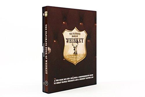 The Ultimate Book of Whiskey Set W/ Tasting Journal (Whisky Slipcase)