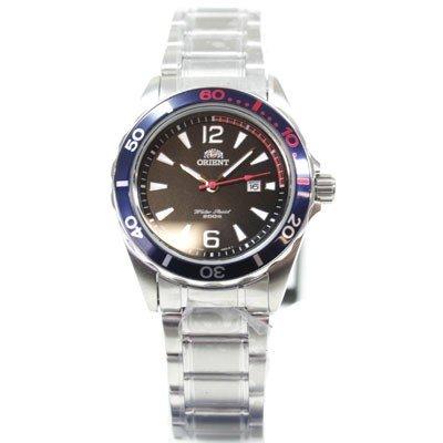 ORIENT Uhr Sport Deep Diver Quarz Damenuhr Datum black FSZ3V001B0