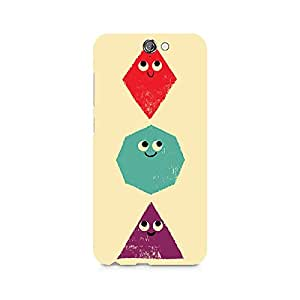 Ebby Geometric Monsters Premium Printed Case For HTC One A9