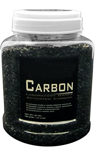 24 Ounce Premium Laboratory Grade Super Activated Carbon with Free Media Bag Inside (Super Activated Carbon Filter compare prices)