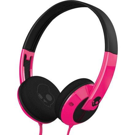 Skullcandy Uprock Micd Pink/Black/Black On-Ear Headphones With Mic (S5Urgy-416)