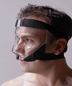 Amazon.com : Sports Knight™ - Nose Guard/Face Shield with ...
