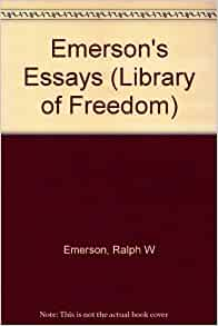 emerson essays second series in 1844