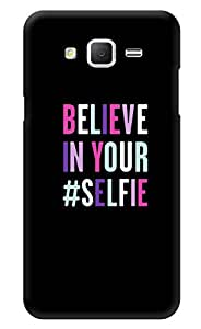 """Humor Gang Believe In Your Selfie Printed Designer Mobile Back Cover For """"Samsung Galaxy On5"""" (3D, Glossy, Premium Quality Snap On Case)"""
