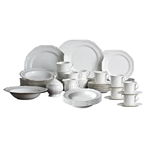 Mikasa Antique White Service for 12 with Accessori