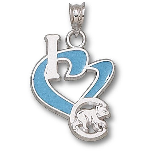 Chicago Cubs MLB Sterling Silver Charm 3/4