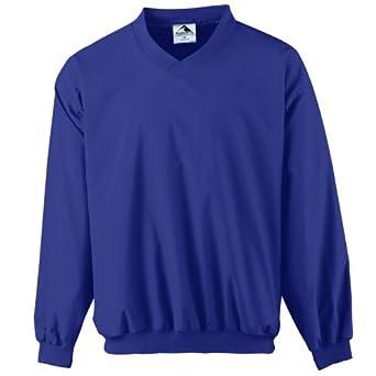 Augusta Mens Long Sleeve Sportswear Wind-Shirt by Augusta