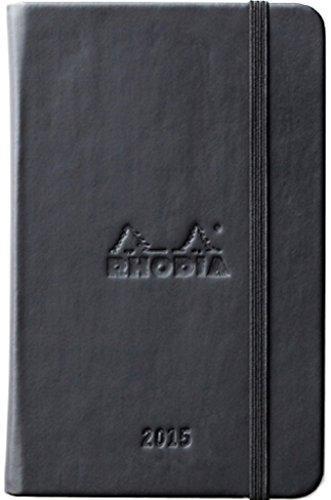 ロディア 手帳 webplanner 9x14cm ブラック