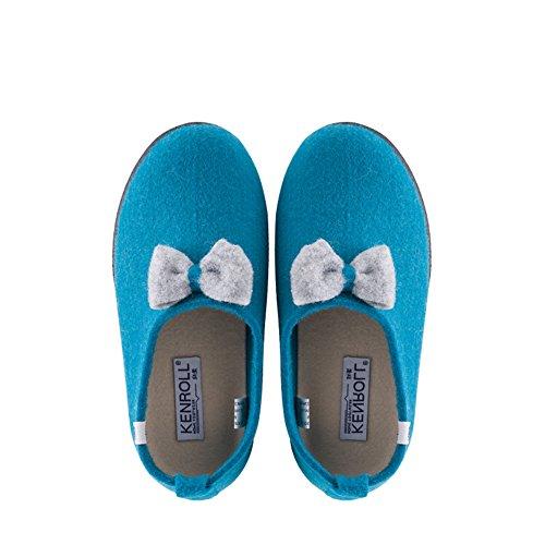 KENROLL Interno Casa Pantofole in Feltro da Donne Invernali caldo scarpe