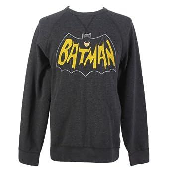 DC Comics Classic Batman Crewneck Sweatshirt Size : Small