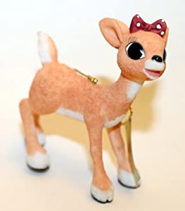 Enesco Rudolph the Red-Nosed Reindeer Ornament - Clarice
