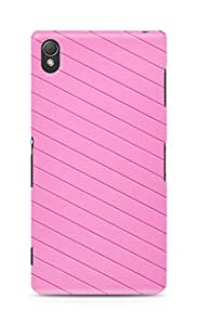 Amez designer printed 3d premium high quality back case cover for Sony Xperia Z3 (Pink for Girls)