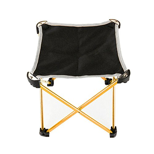 Ezyoutdoor Packseat Walkstool Compact Stool Portable Folding Chair with Case for Camping, Fishing,Hiking,Sports & Travel Photography(child use) (Camping Trolley compare prices)