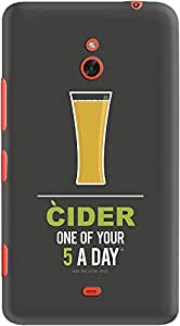 DailyObjects Cider Case For Nokia Lumia 1320
