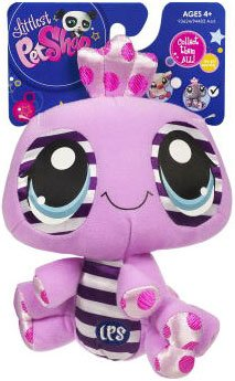 Picture of Hasbro Littlest Pet Shop 6 Inch Plush Pet Figure Spider (B00376U3GK) (Hasbro Action Figures)