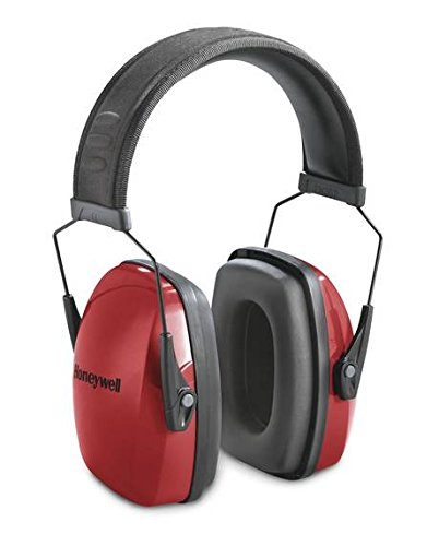 Honeywell Low Profile NRR 25 Earmuff, Red (Honeywell Ear Muffs compare prices)