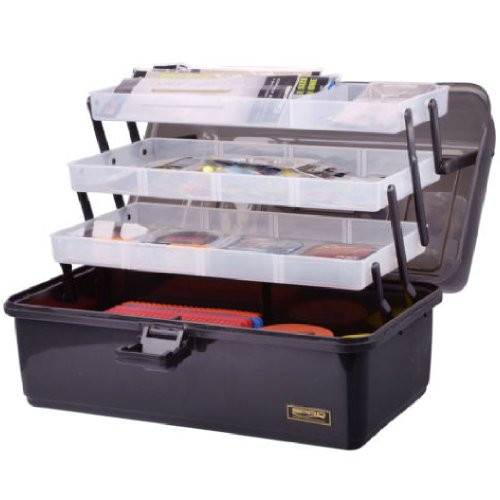 Angelkoffer-Tackle-Box-3-Tray-Gre-XL