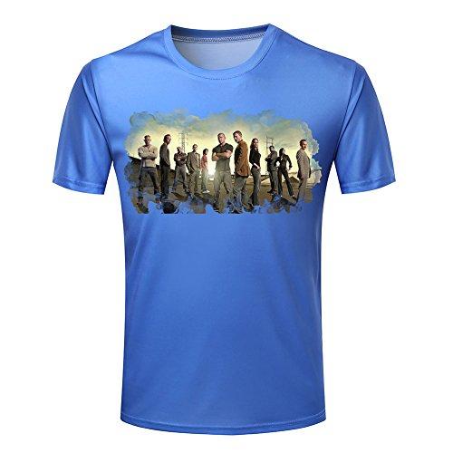 Prison Break Men's Characters Lineup t shirt XXXXL