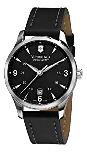 Victorinox Swiss Army Men's 241474 Alliance Black Dial and Strap Watch