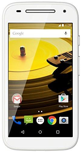 Moto E 2nd Generation (3G, White)