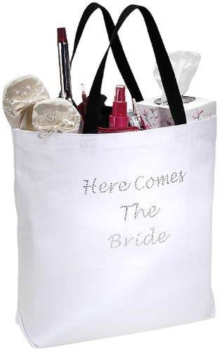 Rhinestone Bridal Party Tote Bag