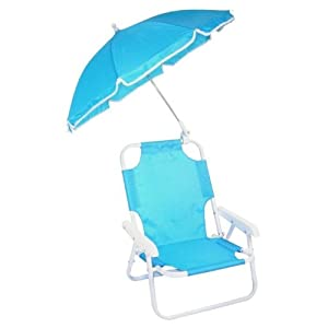 Redmon Baby Beach Chair And Umbrella - Blue by Redmon