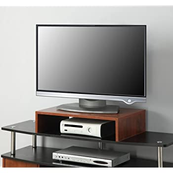 Convenience Concepts Designs2Go Small TV/Monitor Riser, Cherry