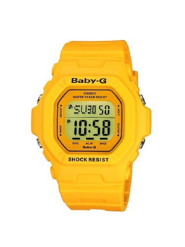 Baby-G Casio Ladies Digital Watch BG-5601-9ER with Resin Strap