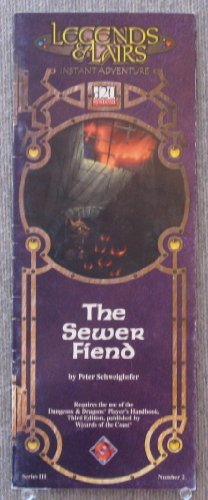 The Sewer Fiend (Legends & Lairs Instant Adventure, 3)
