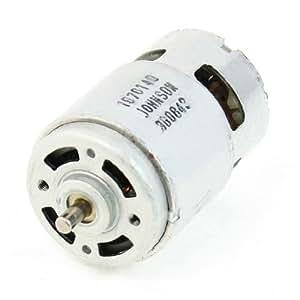 Uxcell Dc 12v 3600rpm 5mmx9mm Dia Shaft 2 Terminals 2p