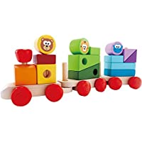 J'adore Zoo Animals Stacking Train