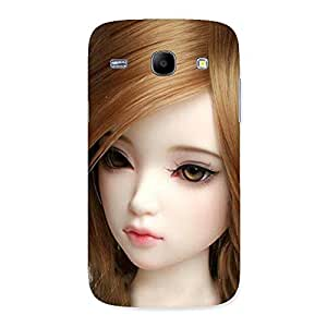 Lovely Doll Multicolor Back Case Cover for Galaxy Core