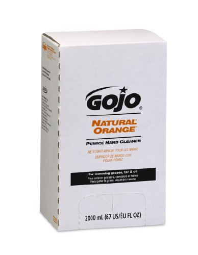 Gojo 7255 Natural Orange Pumice Hand Cleaner Refill