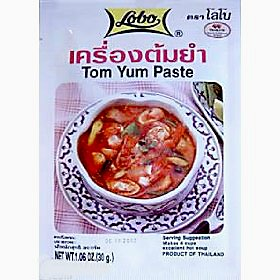 Lobo Spicy Tom Yum soup mix 30g X 5 pack by Lobo