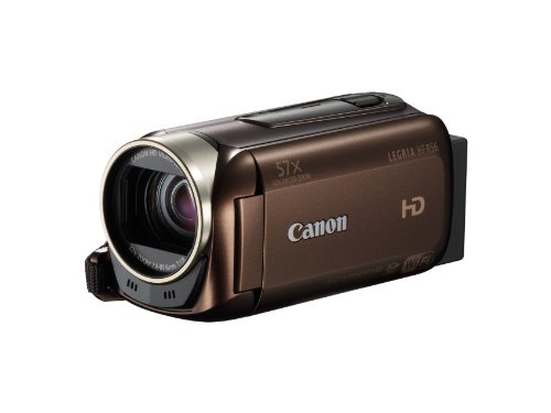 Canon Legria HF R56 High Definition Camcorder - Brown (3.2MP Black Friday & Cyber Monday 2014
