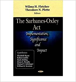 the cost benefits of sarbanes oxley analysis Study of the sarbanes-oxley act of 2002 section 404 including evidence on intended benefits study throughout the analysis.