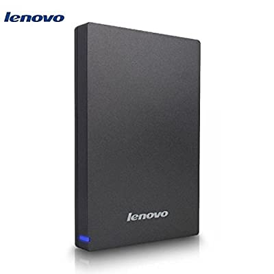 Lenovo 1TB External Hard Drive (Grey)