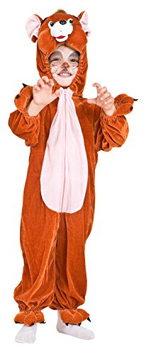 COSTUME DI CARNEVALE TOPO GERRY vestito neonato bambino 1-4 Anni travestimento veneziano halloween cosplay festa party 2026 Taglia 1