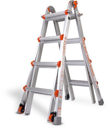 Little Giant Ladder Systems 10102LG 300-Pound Duty Rating Multi-Use Ladder (Little Models compare prices)