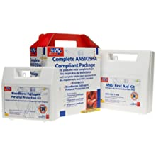 First Aid Only 50 Person With Cpr Faceshield Compliant Package