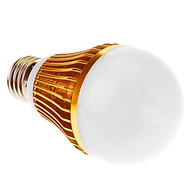Luo E27 5W 5-Led 450Lm 4000K Warm White Light Led Globe Bulb (Ac 85-265V)
