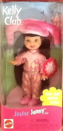 Mattel - Kelly Club - Jester Jenny - Poster inside too - 1