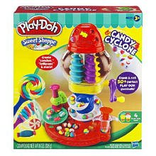 Play-Doh Sweet Shoppe Candy Cyclone Playset(4 two-ounce cans of PLAY-DOH modeling compound) (Age: 3 years and up)
