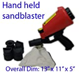 Hand Held Sandblaster Gun Gravity Feeder